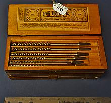 Set of 13 Russell Jennings Auger bits in org. box