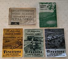 5 Books (3) = 26 Interviews with Champion Farmers by Everett Mitchell on the Firestone Voice of The Farm Radio Program P.B. Booklet; 64 Pages; 6 ½ x 9 ¼ . Each of these Farmers give facts that increase your farm yield and profit. = These booklets