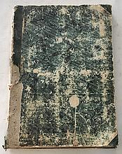Rural New Yorker HC; 13 ½ x 19 ¼; July – December 1852 Hardbound = ½ years Farming magazine = good condition = some staining, front cover detached. Lots of good early true to life stories before the civil war.