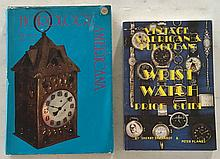 2 Books = Horology America by Robert Dickstein and Lester Dworetsky HC with DJ; 7 ¼ x 10 ¼; 211 Pages. Over 200 antique clocks from earliest colonial days through the 1800s are brought to life with more than 300 lavish illustrations and 204 full
