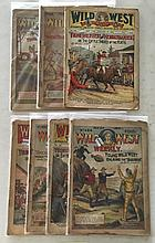 Wild West Weekly (7 issues) 1906, 1909, 1910, 1911, 1916 (these issues are very rare)