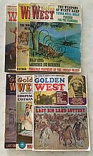 6 Golden West magazines 1967, 1970, 1971, 1974 = When The U.S. Government Ran its last big land lottery = Lost in The Gold Fields Page 16 True Stories of America's Great Frontier Days.