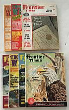 4 Frontier Times Magazines 1964, 1974, 1975; 3 Frontier West Magazines 1974, 1975 Lots of Gold stories = Indian stories = Last Open Range in New Mexico.