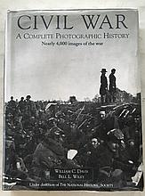 Civil War by William C. Davis and Bell L. Wiley HC with DJ; 9 x 12; 931 Pages. This encyclopedia collection is a vast treasury of nearly 4,000 rare unusual photographs along with illustrations. = anyone that likes to look at pictures, then this is