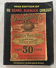 1902 Edition of The Sears, Roebuck Catalogue P.B.; 8 ½ x 10 ½; 1162 Pages. Early 1902 guns, Winchester Rifles for $10.00 and up, Page 312, Pages of Shotguns and Rifles and Pistols all of the turn of the Century = Carriage of $34.00, Page 367 = lots