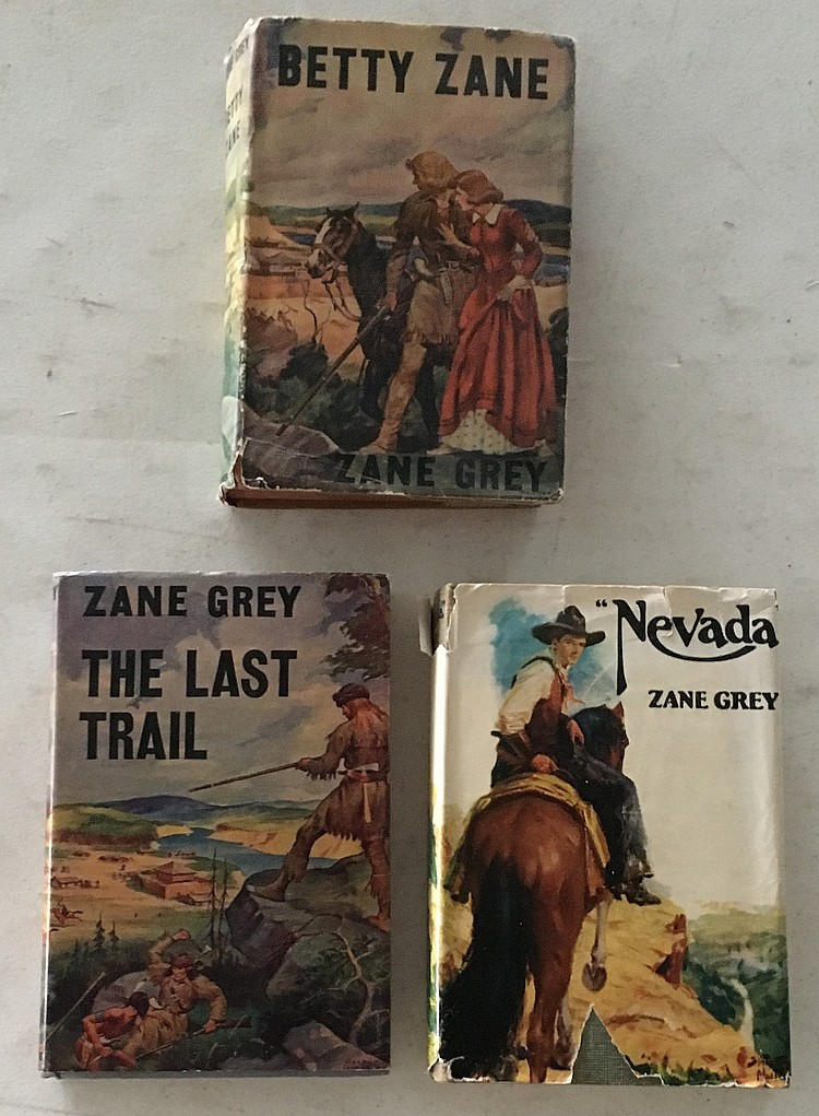 Lot of 5 Zane Grey paperbacks