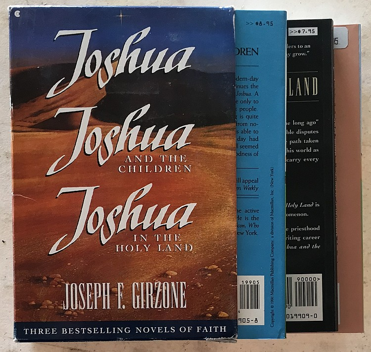Lot 4 Joseph F. Girzone Books Joshua and the Children, Messenger, Parables