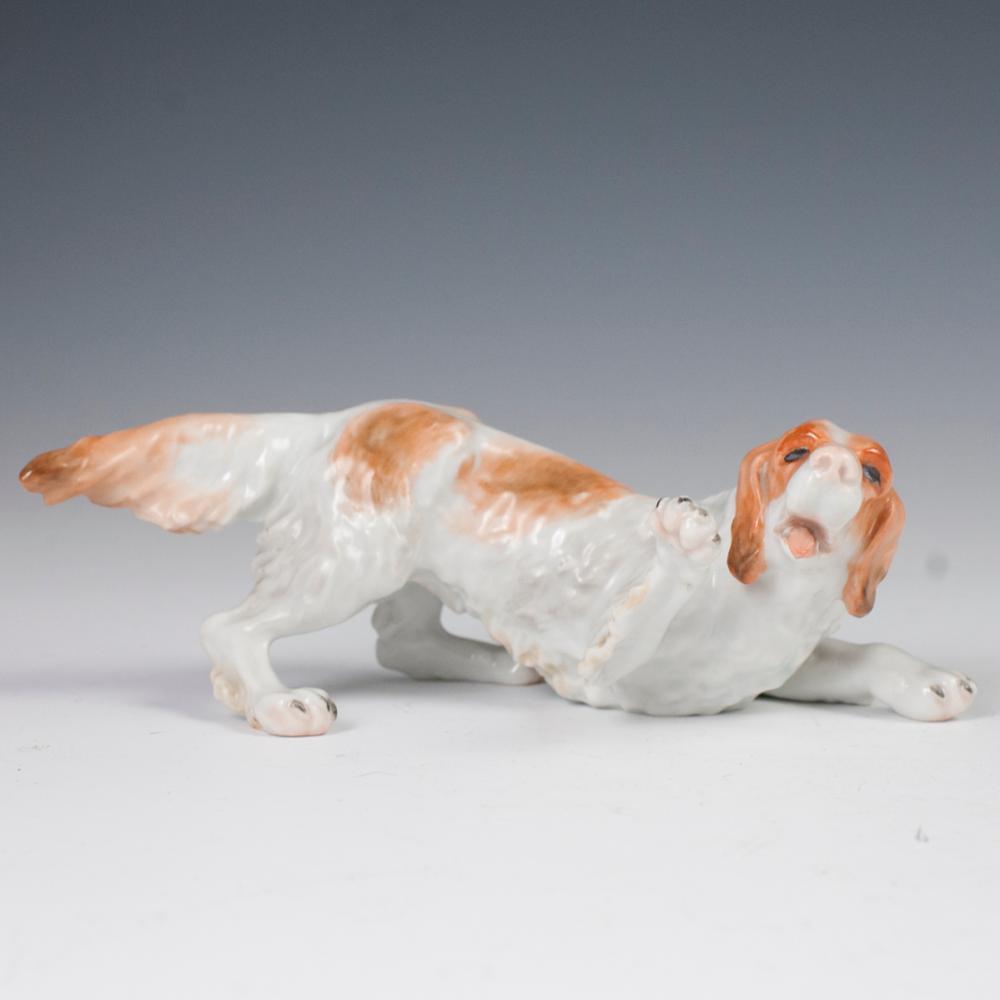 Herend Porcelain Dog Figurine