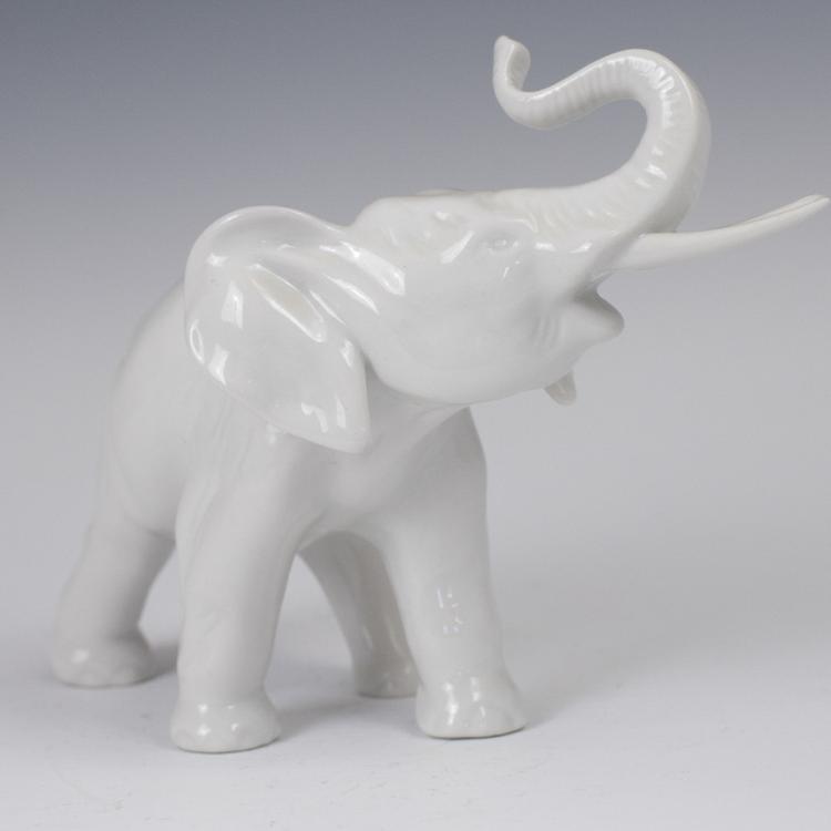 Royal Dux Porcelain Elephant