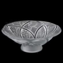 Possibly Verlys Frosted Crystal Stem Bowl