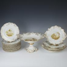 Antique English Porcelain Set