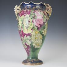 Austrian Art Nouveau Porcelain Vase