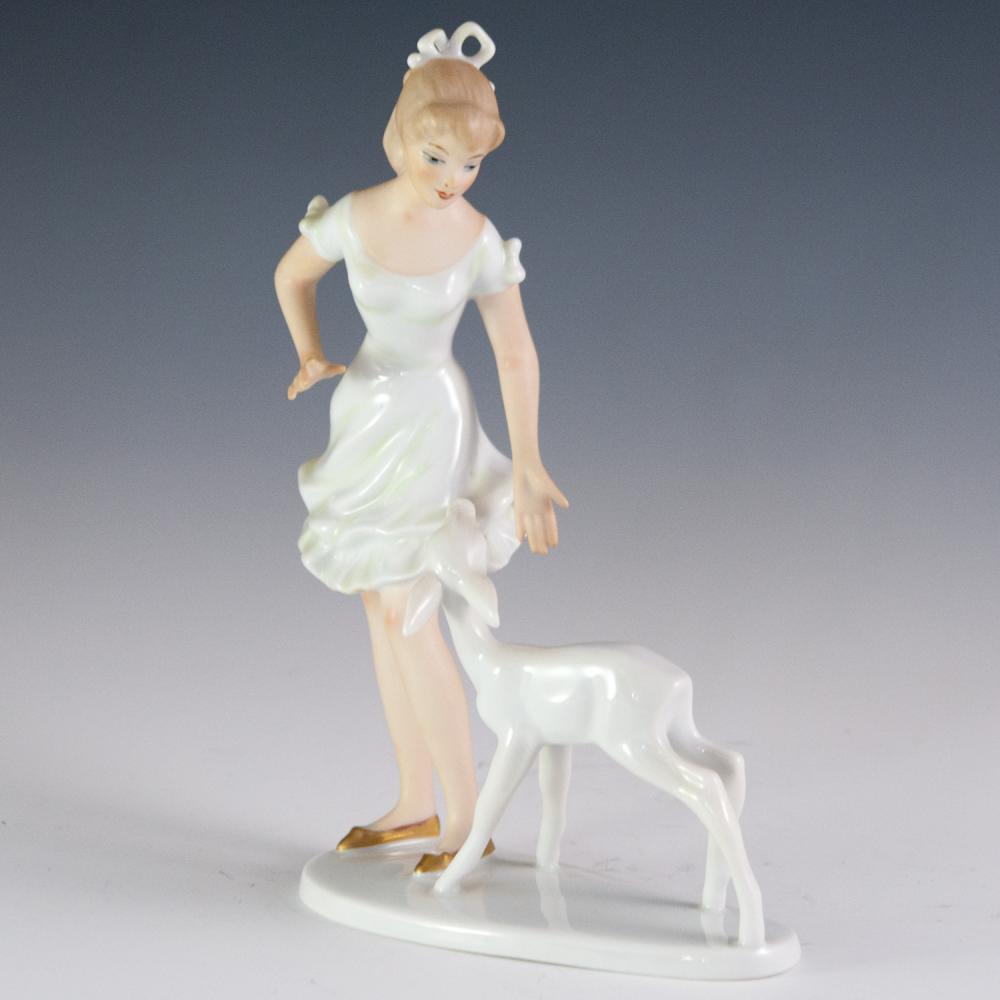 Wallendorf Porcelain Figurine