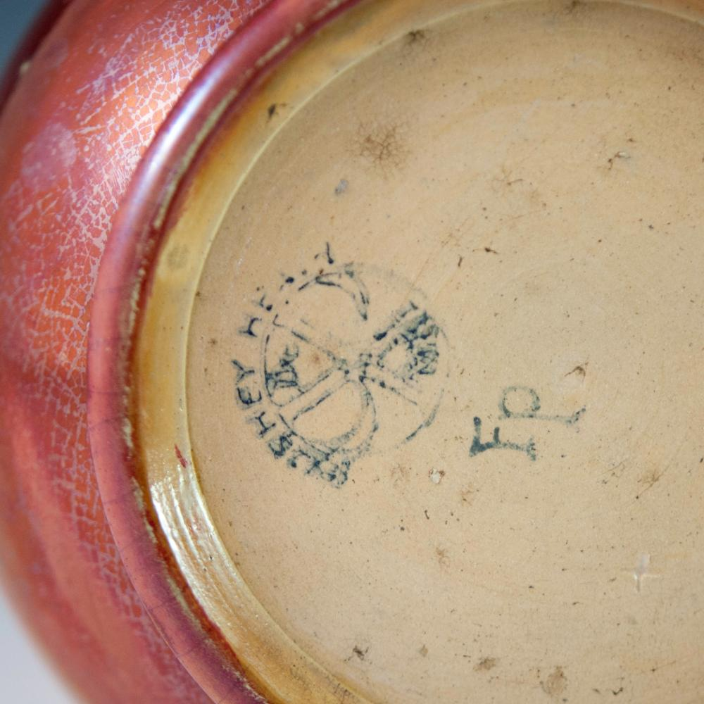 Sold Price Bushey Heath Iridescent Pottery Vase August 4 0118 2 00 Pm Edt