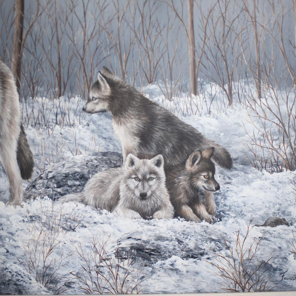 Quote Des Artistes Peintres marcelle faucasse (canadian. xx) oil painting