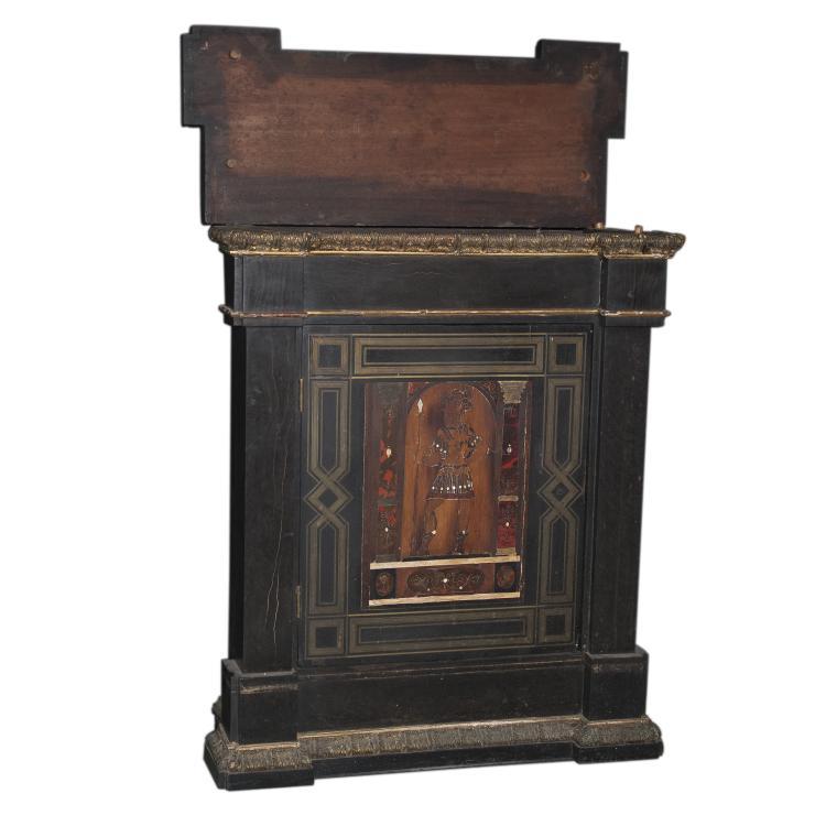 Antique boulle petite armoire - Armoire petite hauteur ...