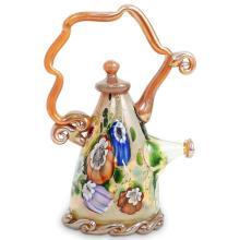 Paul Allen Counts (American) Art Glass Teapot
