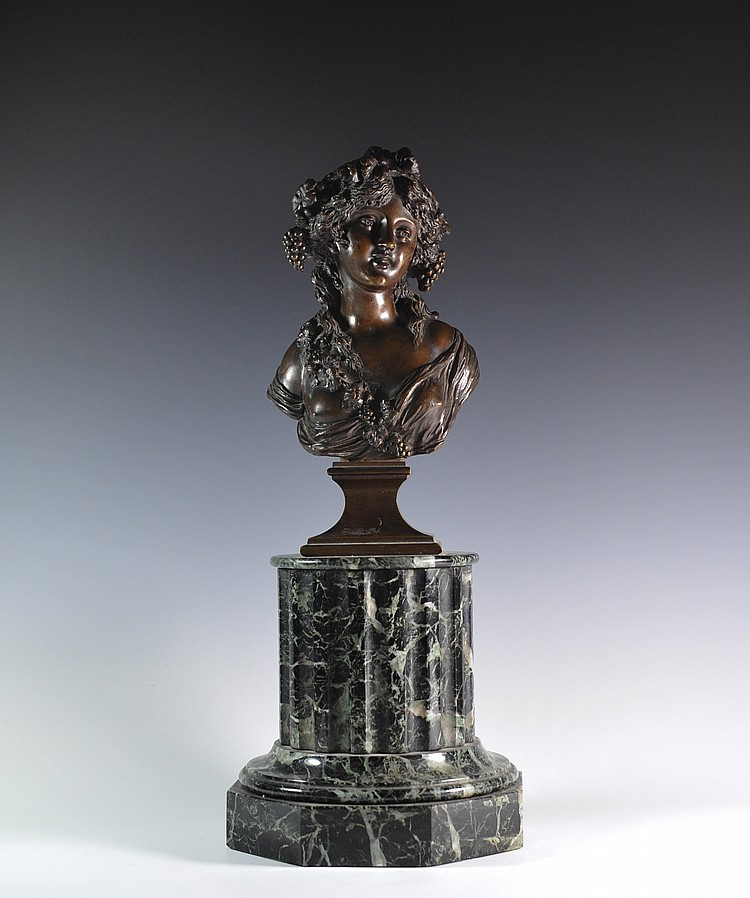 Jacques Marin Bronze Bust
