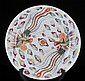 Vintage Chinese Porcelain Plate W/ Stand