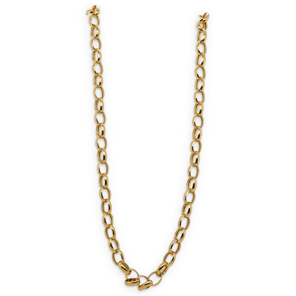 Italian Milor 14k Gold Chain Necklace