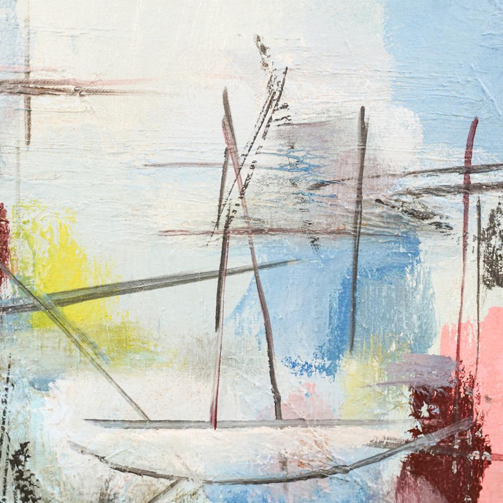 Attrib. Oscar Zalameda (1930 - 2010) Abstract Painting