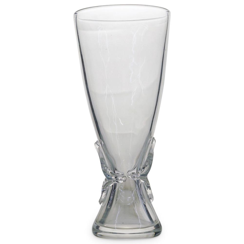 Steuben Clear Crystal Vase