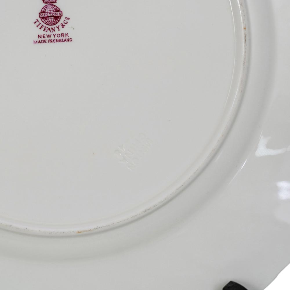(12Pc) Tiffany & Co. Minton Porcelain Dish Set