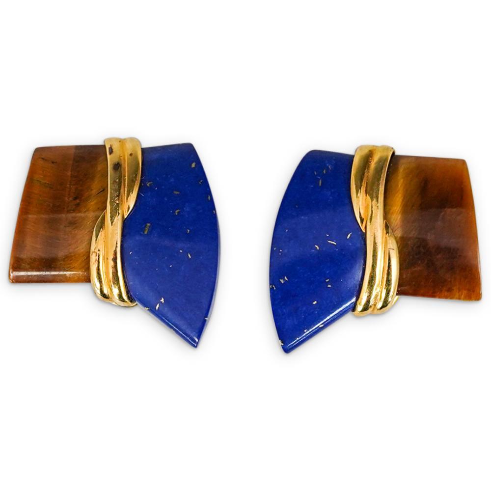 (3 Pc) Semi Precious Stone Jewelry Suite