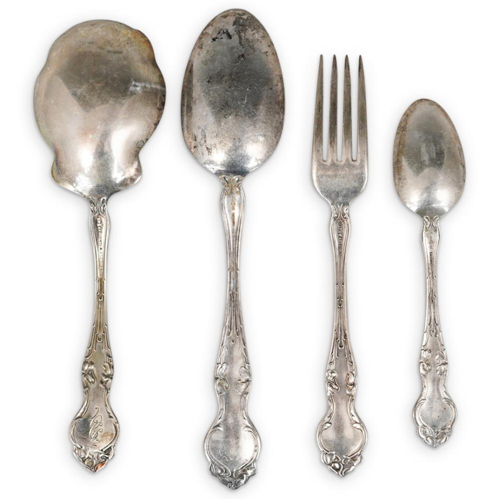 (18Pc) RM & S Sterling Silverware