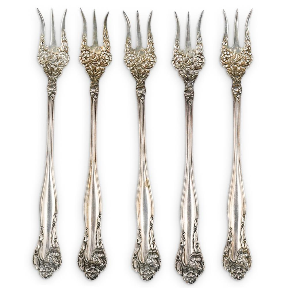 (13Pc) Antique Sterling Silver Grouping