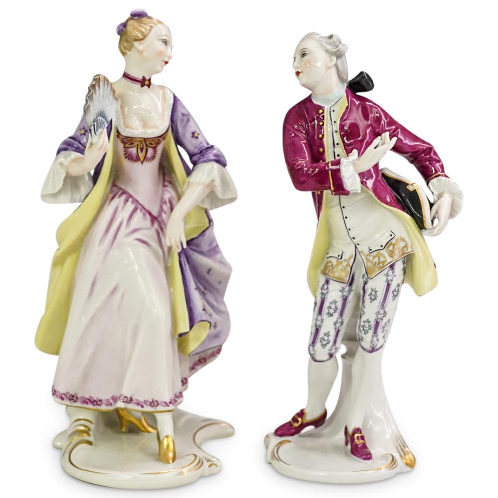 Pair Of Rosenthal Porcelain Figurines