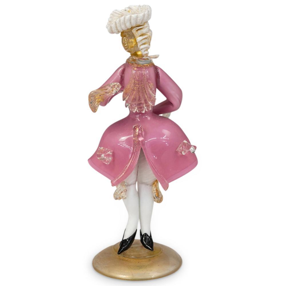 (3 Pc) Murano Glass Venetian Figurines