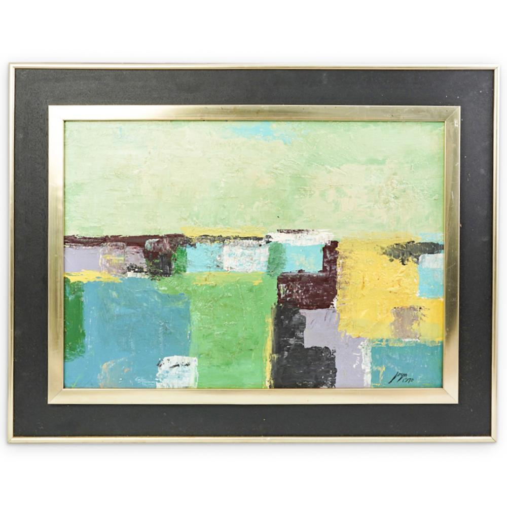 Jose Joya (Filipino, 1931-1995) Abstract Oil Painting