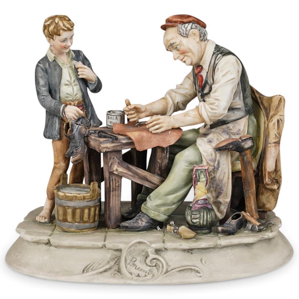 Bruno Merli Capodimonte Porcelain Figurines