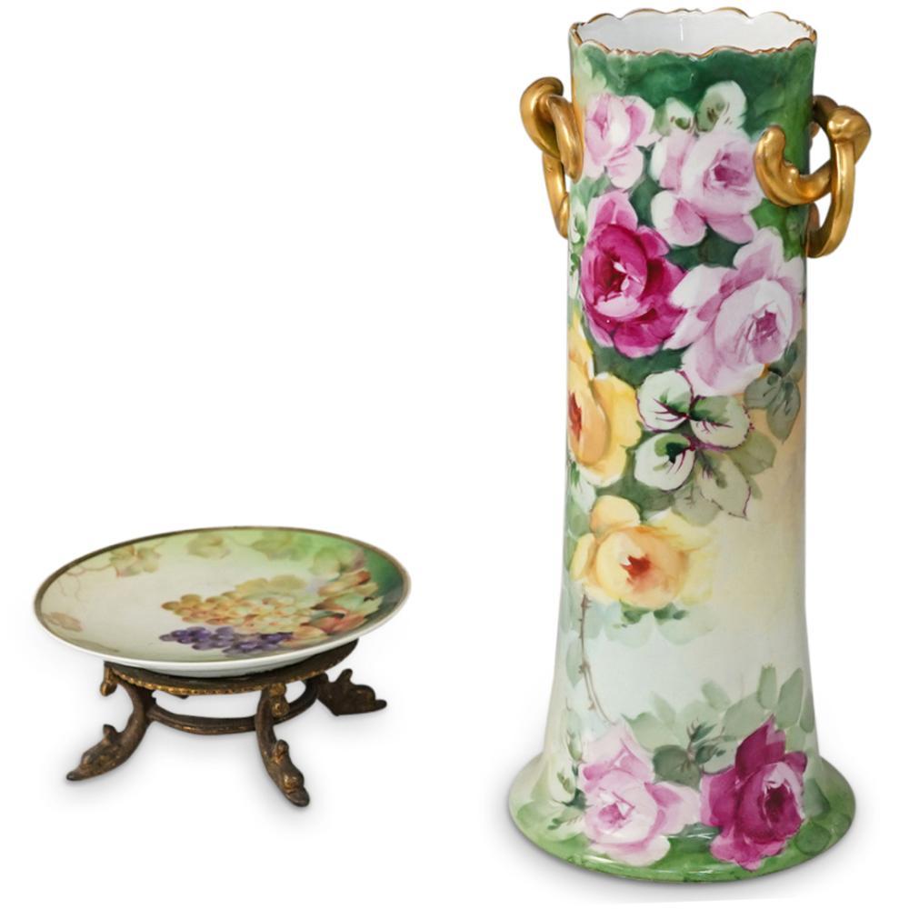 (2 Pc) Royal Vienna Porcelain Grouping Set