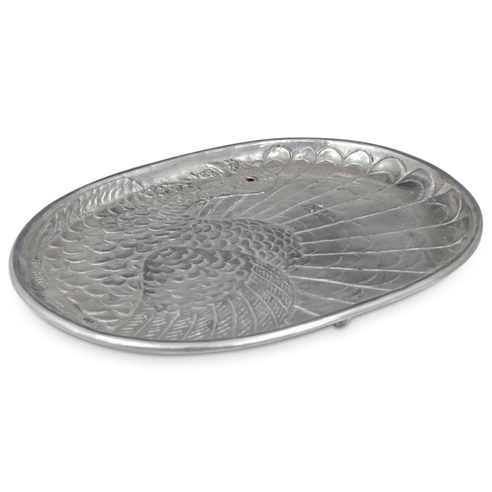 Arthur Court Pewter Turkey Platter