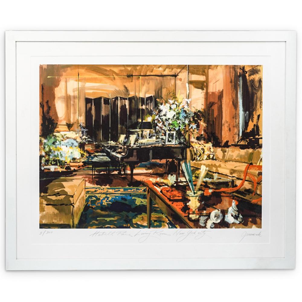 Jeremiah Goodman (1922-2017) Interior Artist Proof