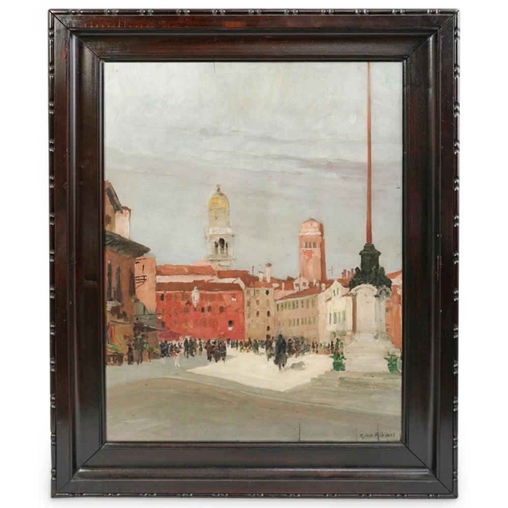 Gino Albieri (Italian, 1881-1949) Oil Painting