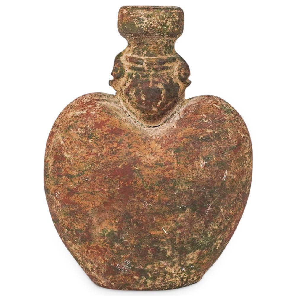Probably Pre-Columbian Taino Pottery Vessel