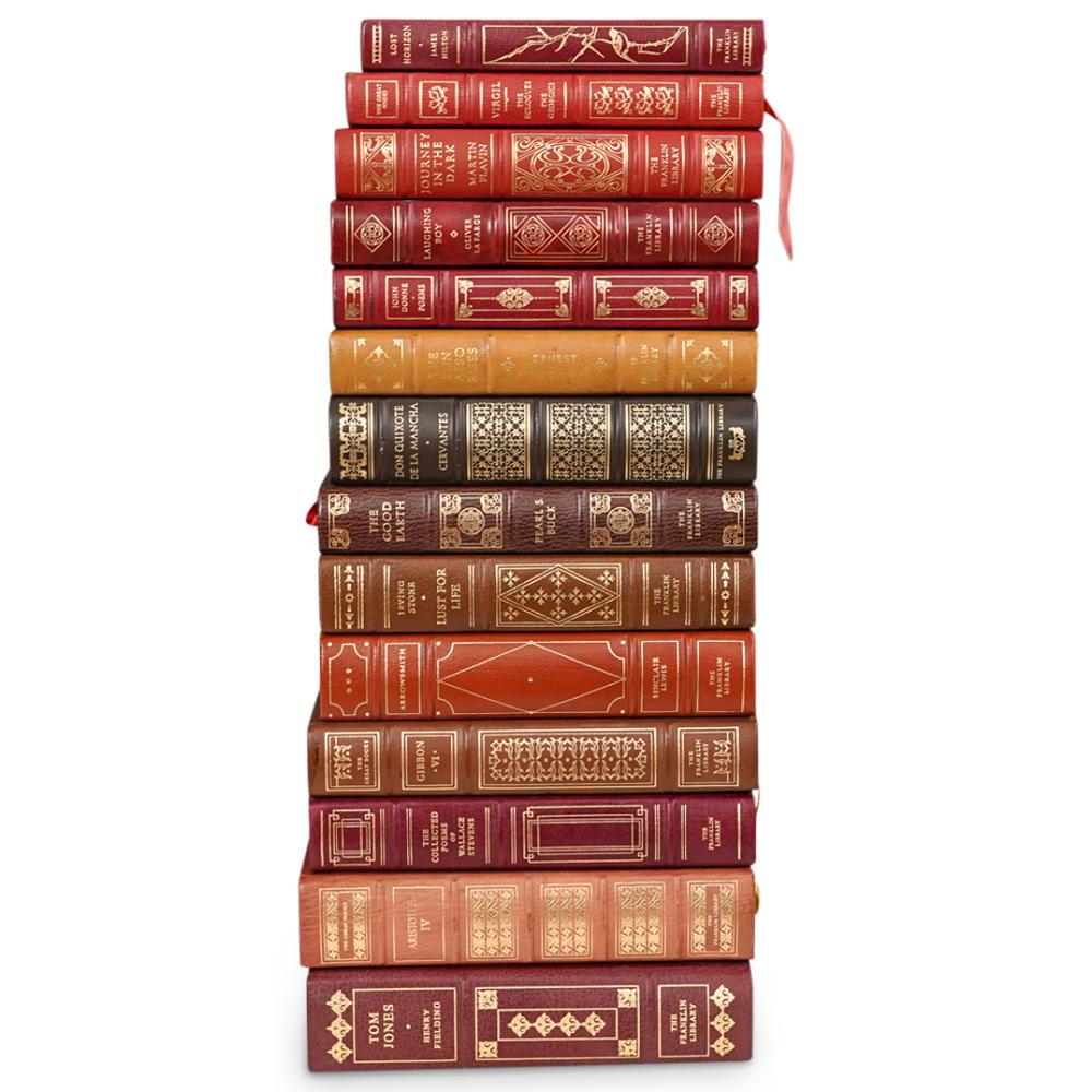 (14 Pc) The Franklin Library Books Grouping Set
