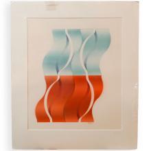 Vernon Fisher (American, b. 1943) Acrylic on Paper