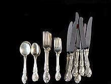 Gorham Sterling 40-Piece Flateware Set
