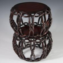 Chinese Rosewood Stands