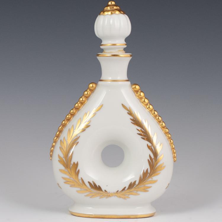 Porcelaine de Couleuvre Limoges Porcelain Bottle