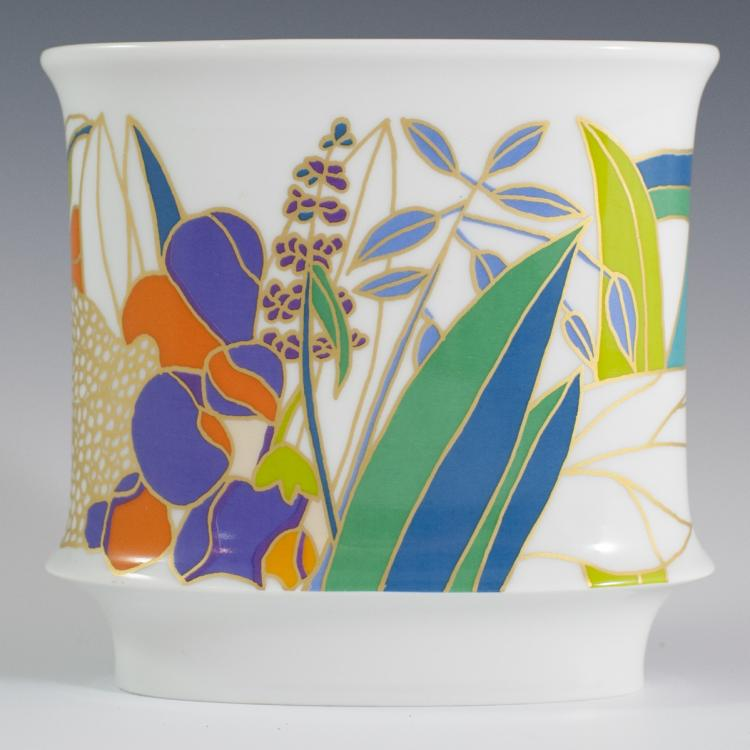 Rosenthal Wolf Bauer Porcelain Vase