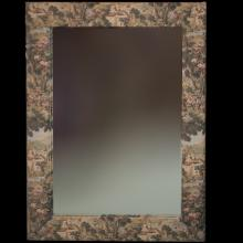 French Tapestry Mirror