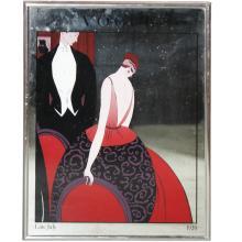 Vintage Vogue Mirror