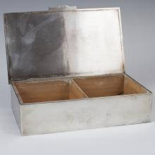 Viners of Sheffield Silver Plated Cigarette Box