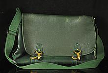 Louis Vuitton Hunter Green Messenger Bag (march 2013)