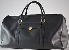 Mont Blanc Large Leather Travel Bag
